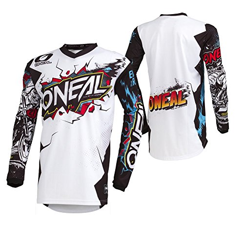 Oneal ELEMENT Youth Jersey VILLAIN white L
