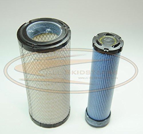 Engine Air Filter Kit for Kubota Skid Steer SSV65 SSV75 SVL75 SVL75-2 - AK- 59800-26110