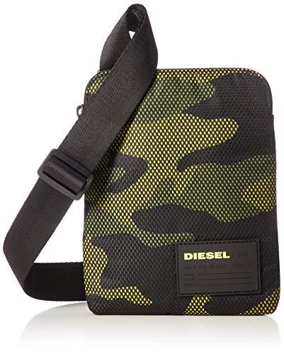 Diesel F-DISCOERY-CROSS Kleine Taschen hommes Schwarz/Grün - Einheitsgrösse - Geldtasche/Handtasche
