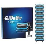 Gillette ProShield Chill - Cuchillas de afeitar para hombre (9 unidades, 5 cuchillas antiirritación)