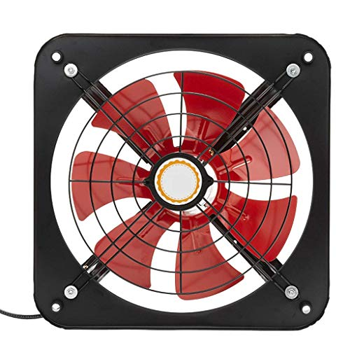 Extractor De Baño, Baño Extractor Ventilador, Cocina Extractor Fan Cocina, 10 pulgadas, Capucha de ventanas Ventilador de metal
