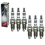 6 candele di accensione originali Bosch FR7HC+