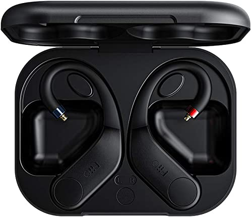 FiiO UTWS3 Bluetooth V5.0 aptX/TWS + Earbuds Hook MMCX Connector with Mic Support/30 Hours Playback and APP Control for Shure SE215 SE315 SE846 SE535 SE425/JVC/FiiO FD5 FH7