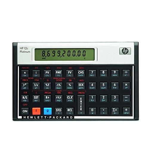 HP-12 C Platinum Hewlett Packard calcolatrice finanziaria