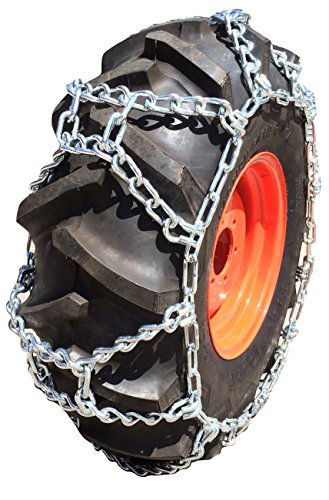 TireChain.com 17.5-24 17.5L-24 Duo Grip Tractor Tire Chains Set of 2