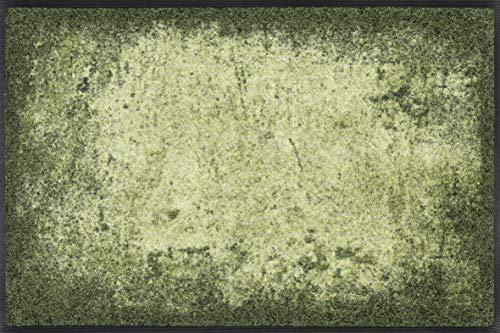 Wash + Dry Design Tapis Vert 50 x 75 cm