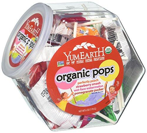 Yummy Earth Lollipops Organic Assorted Flavors 30 ea