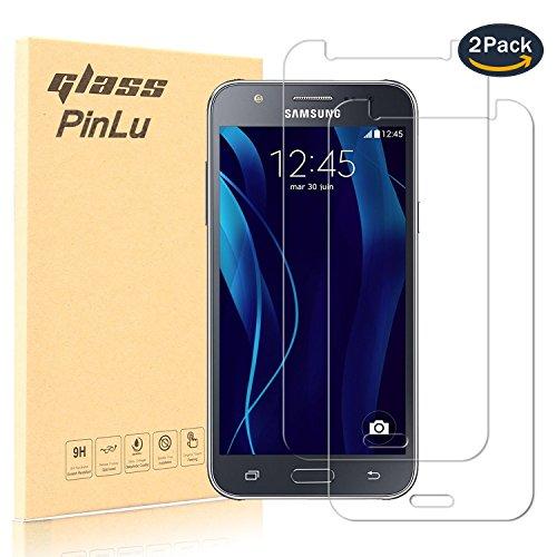 pinlu [2 Pack] Protector de Pantalla de Cristal para Samsung Galaxy J5...