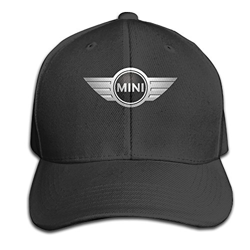 LowkeyNr1 Mini Cooper Logo Adjustable Peaked Baseball Caps Hats Duck Tongue Hat for Mens Womens