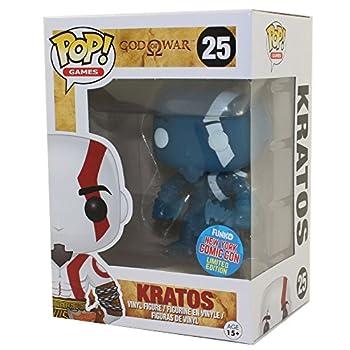 Funko God of War Funko POP! Games Kratos Exclusive Vinyl Figure #25 [Blue Glow-in-the-Dark]