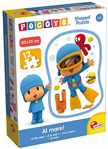 Giochi 65967.0–Pocoyo Puzzle Recorte–al mar