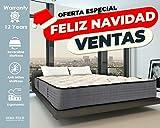 Lisabed Flex – Pack Colchón_2 Almohadas 150x190 Lisa-Flex, Viscoelástico de Grafeno de Alta Densidad, núcleo Fresh Natur, Gama Prestige Hotel, 26cm