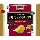 カルビー NATURALCalbeeオリーブオイルチップス ブラックペッパー味 37g ×12袋