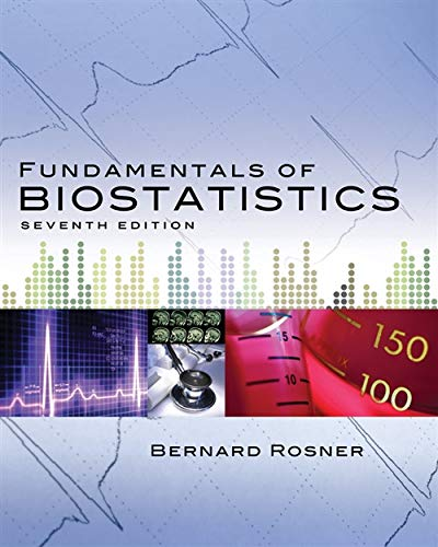 Fundamentals of Biostatistics (Rosner, Fundamentals of...