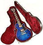 Douglas EGC-400LP Black/Burgundy Premium Case for Gibson & Epiphone Les Paul Guitar