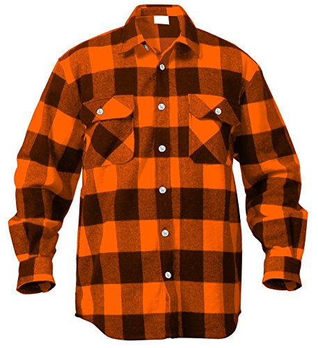 Scorpion EXO Covert Flannel Shirt (Small) (Black/Brown/Grey)