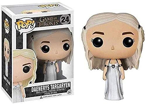 Juego de Tronos # 24 Daenerys Targaryen (Blanco) Pop!