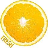 Couleur Chaude Orange Bricolage Maison Cuisine Filles Chambre Décor Sticker Mural Bricolage Amovible Magasin Magasin Ustensiles...