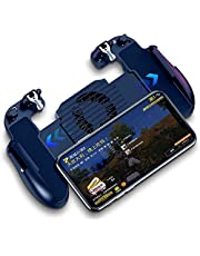 PUBG 3 in 1 mobile trigger control mobile game controller controller fire button L1R1 for Android and iOS Black