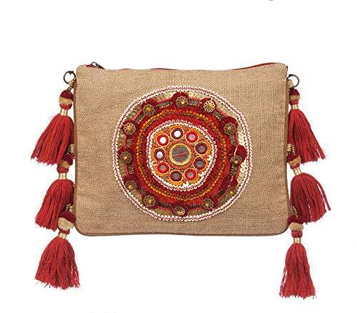 MAYA handbags Bolsa ZAFIRAH para Mujer-Marrón