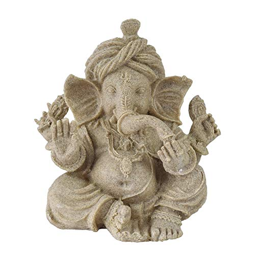 OMEM Reptilien-Dekoration, Ganesha-Buddha-Statue, Ornamente, Heimdekoration, Geschenk, Größe M