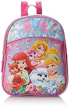 Disney Little Girls  Palace Pets Princess Mini Backpack Blue/Pink One Size