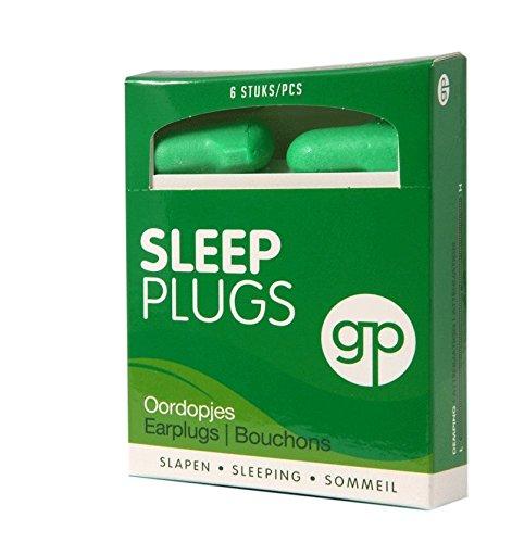 Get Plugged Sleep Plugs. 3 Paar Ohrstöpsel zum Schlafen, Ausruhen, zu studieren. Sehr hoher Dämpfungsfaktor - Gehörschutzstöpsel Schaum.