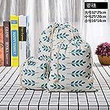 Czxwyst - Bolsa de compras (5 unidades, algodón, reutilizable, con cordón), diseño de flores, color blanco y negro