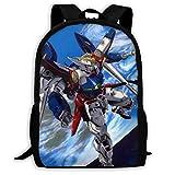 リュックサック Gundam 機動戦士ガンダム 双肩バッグ バックパック Schoolbag For Mens And Womens 大容量 通学 中学生かばん リュック スクエアリュック 男女子高校生 バック 通学 通勤