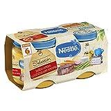 Nestlé Naturnes - Selección Judías Verdes y Patatas con Ternera - A partir de 6 meses - 2 x 200 g