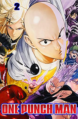 The_Bald_Man.New Collection: Just_One_Punch.Man-Manga V.2 (English Edition)