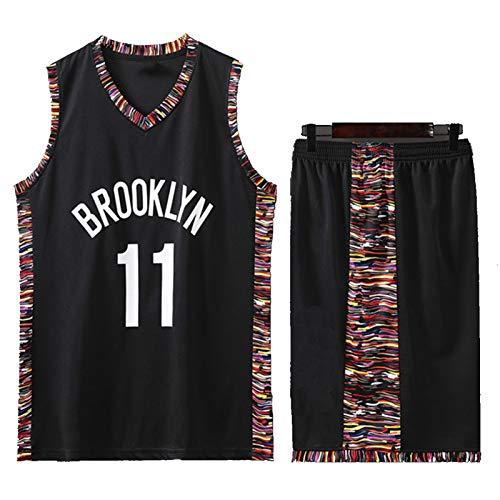 DSWF IRVIÑG 11# NẽTS Jersey de Baloncesto para Hombres, Camisetas Deportivas Transpirables Sudadera Sudadera Adecuada para Hombres y Adolescentes XXXXXL