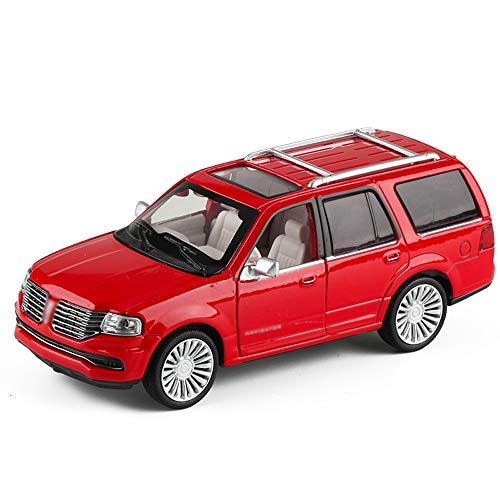 Xolye Große Geländewagen Modell 2 Farbe Optional Kinder Junge Spielzeug-Auto-Geschenk-Legierung Ton und Licht Metall Anti-Fallen-Spielzeug-Auto kann die Tür Inertial Sliding-Spielzeug-Auto