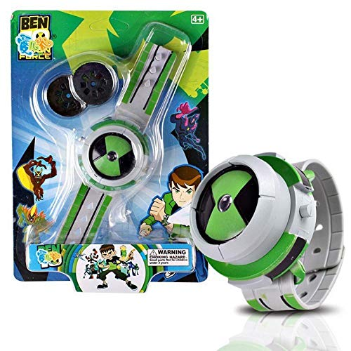 Ben 10 Omnitrix Projector Watches Toys Ben 10 Action Figure Toys Projector Medium for Children Birthday Party Gift A Style