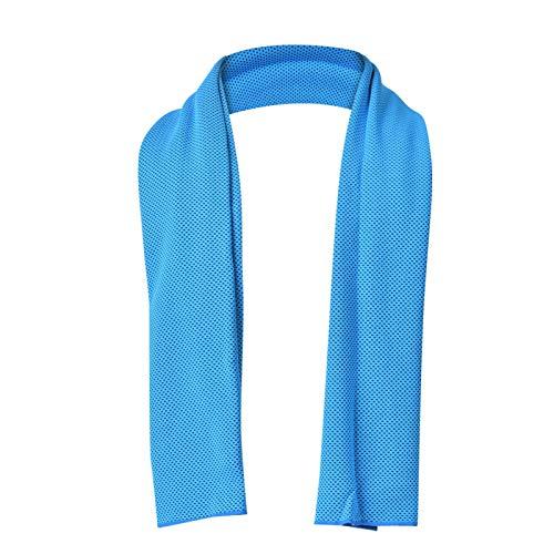 DAUERHAFT Toallas refrescantes Toallas Deportivas cómodas Secado rápido Agradable para la Piel, para Gimnasio, para Correr(100 * 30)