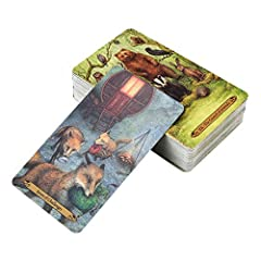 Forest of Enchantment Tarot 78 Cards Deck Game, English Pdf Guidebook, Fortunetelling about Love #2