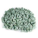 Materiale abrasivo in pietra per gioielli, utensile abrasivo per lucidatura a tre stelle con taglio angolare, per lucidatura a macchina a vibrazione