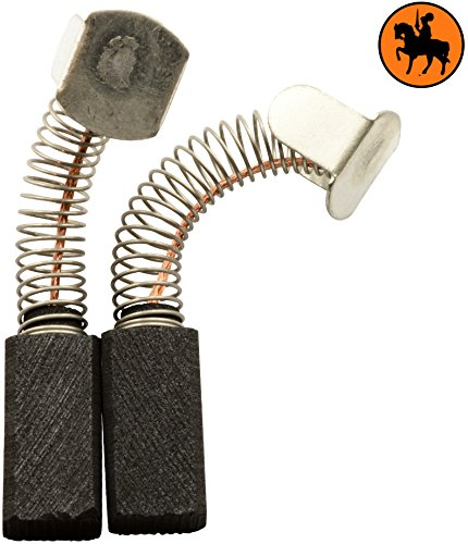 Escobillas Carbón CASALS M115 amoladora -- 6,3x8x15,5mm