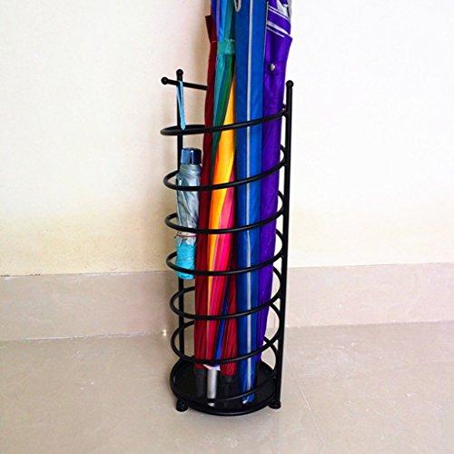 Porte-parapluies de ménage Iron Art Créativité Seau de Stockage Hall de l'hôtel Convient pour Un Usage Domestique