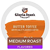 Gloria Jean's Coffees Butter Toffee, Single-Serve Keurig K-Cup Pods, Flavored Medium Roast Coffee, 48 Count