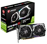 MSI Gaming GeForce GTX 1660 Ti 192-bit HDMI/DP 6GB GDRR6 HDCP Support DirectX 12 Dual Fan VR Ready OC Graphics Card (GTX 1660 TI Gaming X 6G)
