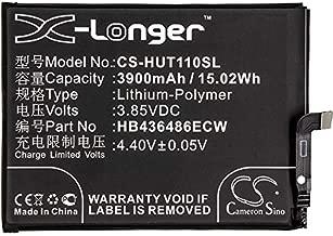 3900mAh Replacement Battery for Huawei G10 Dual SIM, G10 Dual SIM TD-LTE, G10 Plus, Honor 9i, Mate 10 Lite, Mate 10 Lite LTE-A, Nova 2i, Nova 2i TD-LTE, Rhone, RNE-AL00, RNE-L01, RNE-L02, RNE-L03