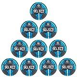 Fan Sport 24 Select Solera EHF Lot de 10 balles d'entraînement Gris/Bleu/Blanc 1 Gris