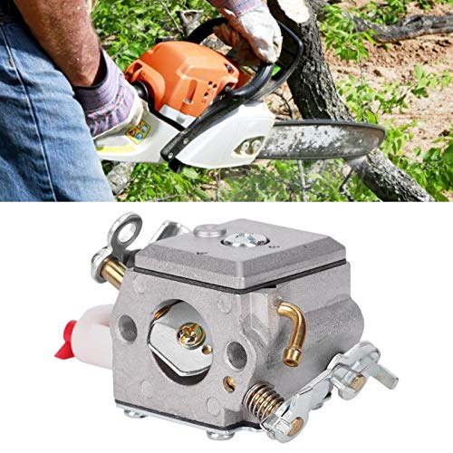 SALUTUYA Carburador de oxidación anódico Ligero, carburador de Motosierra, Aluminio Fundido a presión para Sierra de Cadena Husqvarna 357XP 359XP