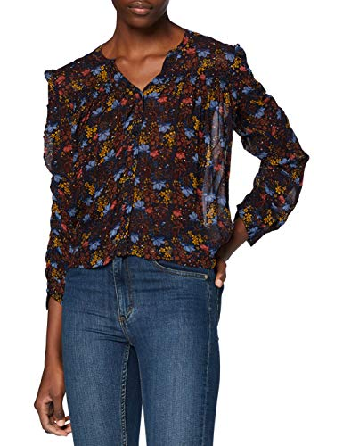 Pepe Jeans Clea Blusa, Multicolor (0AA), X-Small para Mujer