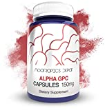 Alpha GPC Capsules | 150mg | 180 Count | Cholinergic Supplement | Brain Health Supplement | Supports Healthy Brain Function | Enhance Cognition, Memory + Focus