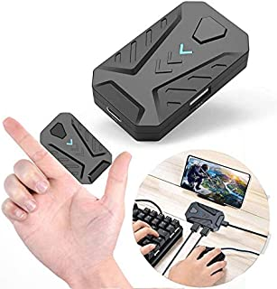 JSX Mobile Games Adaptor,Type-C 5V Converter Adapter Wireless Via Bluetooth 4.0 Connection PC PUBG Mobile Game Accessories