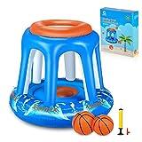 Gonex Basketball Hoop Water Inflatable Pool Basketball...