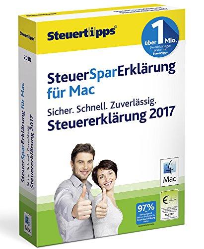 Akademische Arbeitsgemeinschaft SteuerSparErklärung 2018 I für Steuerjahr 2017 I Mac Standardverpackung