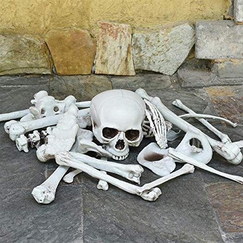 Halloween Skeleton Bones Decoration, Spookiest Graveyard Humans Skull Spooky Scene (28)